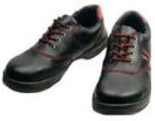 安全靴 短靴 SL11 SL11R27.5_3043 黒/赤 27.5cm