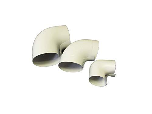 Blauberg UK Conduit souple PVC X Blanc 100/mm x 3/m