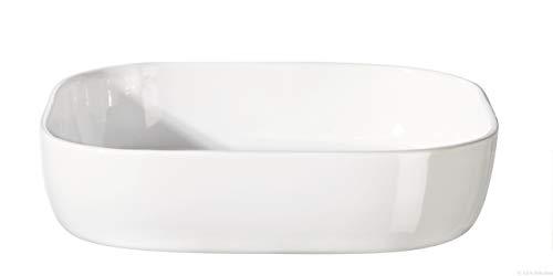 ASA XL-Auflaufform, Keramik, Weiß, 31 x 31 x 7 cm