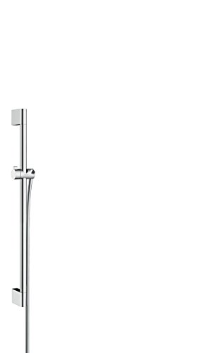 Hansgrohe Unica' Croma douchestang 0,90 m, chroom Met doucheslang 1,60 m. 0,65m chroom
