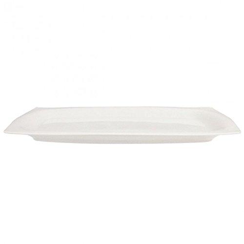 Guy Degrenne Sd One Plat de Service Porcelaine Blanc
