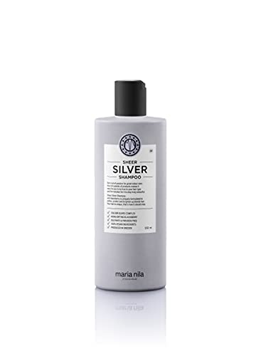 Maria Nila Care & Style - Sheer Silver Shampoo 350ml | Silber Shampoo mit violetten Pigmenten