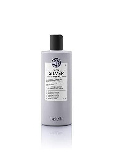 Maria Nila Care & Style Sheer Silver Champú 350 ml | Silver Champú con pigmentos violetas