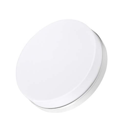 Plafón LED de Techo 48W 3840 lm Plafón Interior 6500K Blanco Frío Ø30cm Panel Redondo Iluminación 85-265V LED Lámpara de Tech para...