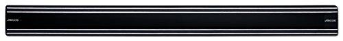 Arcos Soportes Magnéticos, Soporte Magnético para Cuchillos, Hecho de PVC, Acero y ABS 500 x 45 mm, Color Negro