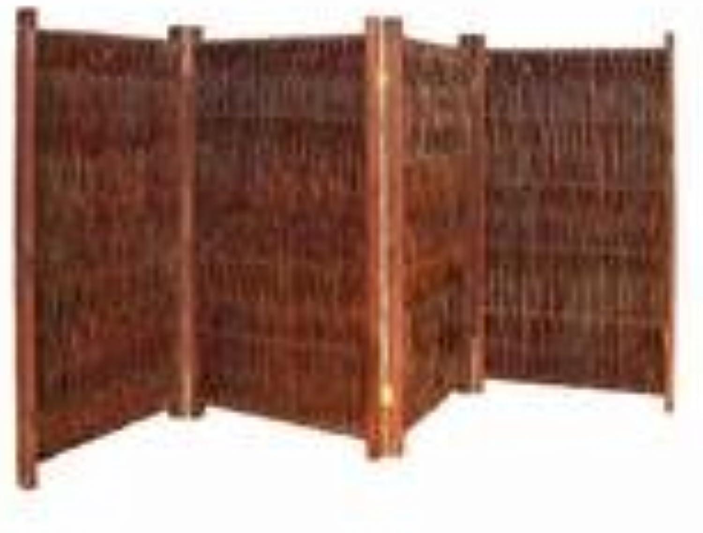 NOOR Weiden-Paravent 150 x 240 cm 4teilig
