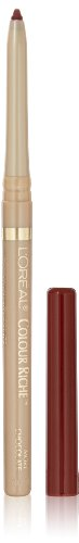L'Oreal Paris Colour Riche Lip Liner, More Chocolate, 0.007 Ounce