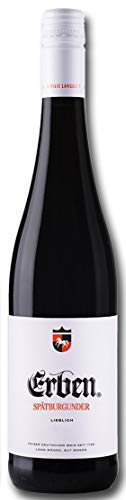 Erben Spätburgunder Lieblich – Rotwein aus Deutschland – Qualitätswein – (1 x 0.75 l)