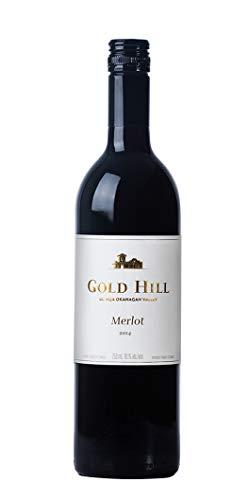 Gold Hill 2014 Merlot Rotwein (75 cl x1), Kanadischer Wein aus Okanagan Valley, Kanada BC VQA