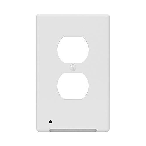 Westek LCR-CCDO-W LumiCover Core Classic Nightlight Wallplate, Single Gang, White