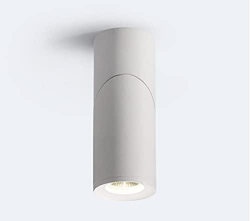 ZHIXIANG LED de rotación Regulable Downlights 7W9W12W15W COB LED Luces de Techo AC110-220V Lámpara de Pared LED Lámpara de Pared Frío Caliente Iluminación Interior