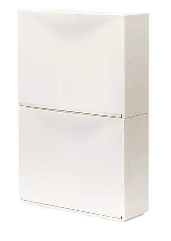 Ikea TRONES Schuhschrank/Aufbewahrungsschrank, Weiß (Anzahl 2)