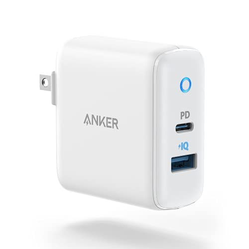 【改善版】Anker PowerPort PD 2 20W(PD対応 32W 2ポート USB-A & USB-C 急速充電器)【PSE認証済 / Power Delivery対応 / PowerIQ搭載 / コンパクトサイズ】 iPhone 12 / 12 Pro iPad Air(第4世代) Android その他 各種機器対応 (ホワイト)