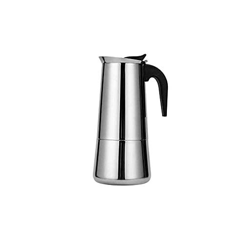 SCRFF Clásico Cafetería Filtro máquina de Espresso café Olla de Acero Inoxidable Filtro Latte