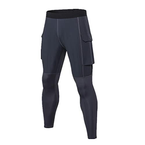 N\P Pantalones de fitness para hombre con bolsillos de secado rápido