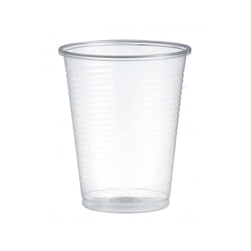 200/750/1500 Bicchieri monouso 200ml Biodegradabili e Compostabili in PLA usa e getta Plastic free | After Plastic (200)