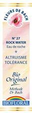 Biofloral, Flores De Bach 27 Rock Water - Agua De Roca Bio Demeter - 20 ml