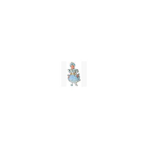 Josman - Disfraz Princesa Azul Deluxe