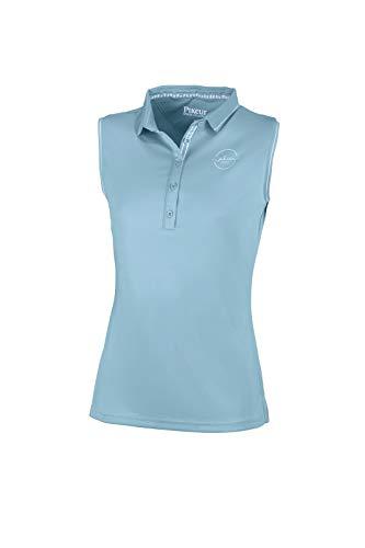 Pikeur Jarla Polo Shirt ohne Arm Aquamarine FS 2021 Gr. 36