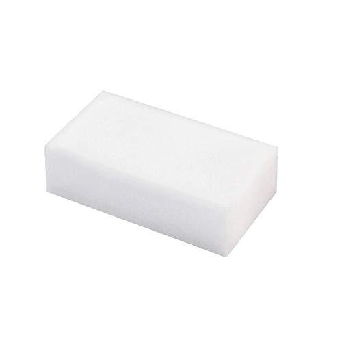 North cool 45 Stück White Magic Schwamm-Radiergummi-Melamin-Reinigungsmittel-Reiniger, Küchen Foam Küchenzubehör Melamin Schwamm for Waschmaschine (Color : 40pcs)