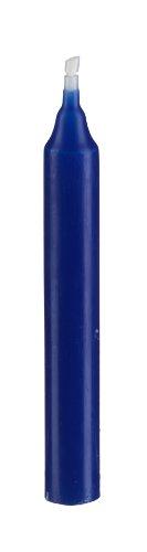 Baumkerzen Blau 10 x 1,2 cm (20 Stück)