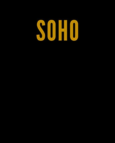 SOHO: A Decorative GOLD and BLACK...