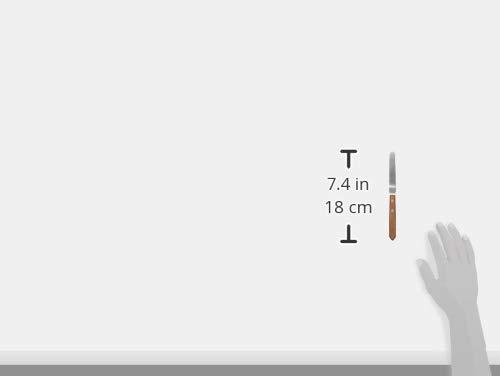インテックカネキ『木柄薄口パレットナイフNo.2L(WPL22)』