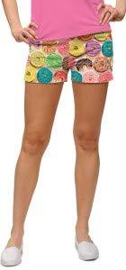 Loudmouth Damen Mini-Shorts Doughnuts