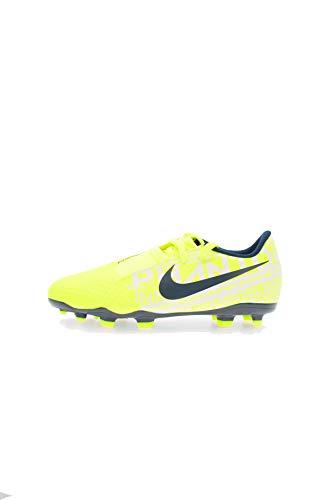 Nike Unisex JR Phantom Venom Academy FG Fußballschuhe, Grün (Volt/Obsidian/Volt 717), 38.5 EU