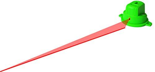 Danpon レーザー墨出し器 フロアライン 1本 高輝度レッドライン マグネット付き 360°回転 内装工事 小型 非球面ガラスレンズ 採用VH-66R