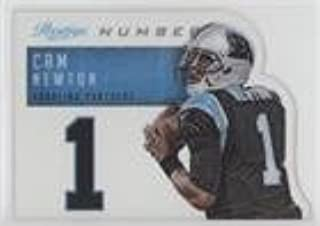 Cam Newton (Football Card) 2014 Panini Prestige - Behind the Jersey Numbers #6