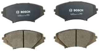 Bosch BC1009 QuietCast Premium Ceramic Disc Brake Pad Set For 2004-2011 Mazda RX-8; Front