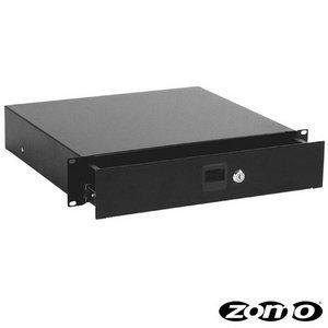 Zomo ZM61898 - Cassetto incassabile con serratura, colore nero