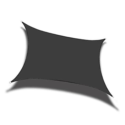 XYXH Toldos Vela Cuadrado Impermeable 3x3m, Toldo Vela para Exterior, Vela De Sombra Jardín, Fácil De Ensamblar - para Terraza Balcón Pergola Piscina Camping