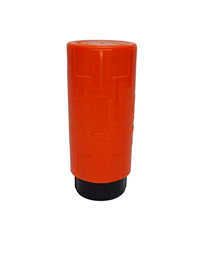 TUBOPLUS- TUBOX3 Orange 2020 Pallina da Tennis e Paddle Bottle Pressurizer Bottle - Salva Le Palle per Un Tubo !! - più Vita per Le tue Palle - Made in Zaragoza -Spain -