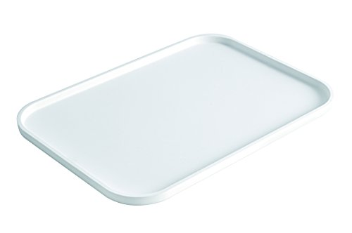 Silikomart 70.035.87.0165 Plateau Multi-Usage Taille Grande Silicone Blanc