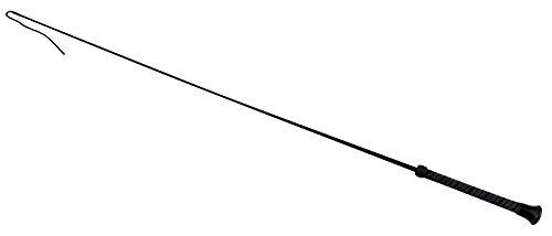Pferdepeitsche, rot, für Pony-Dressur, Gummi-Peitsche, Stock, haltbar, Reitsport, Reitzeug, schwarz, 130 cm