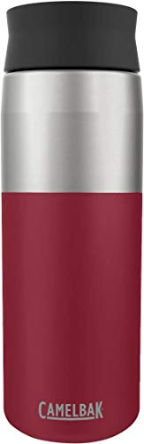 Camelbak Hot Cap Vacío Acero Inoxidable 20 oz, Botella Cardinal - 001 Rojo, N