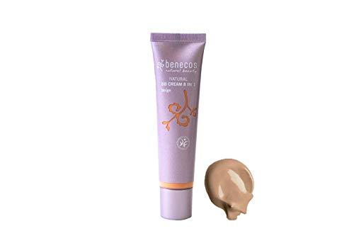 benecos Naturkosmetik - BB-Cream - flüssig - mittlere Deckkraft - vegan - beige