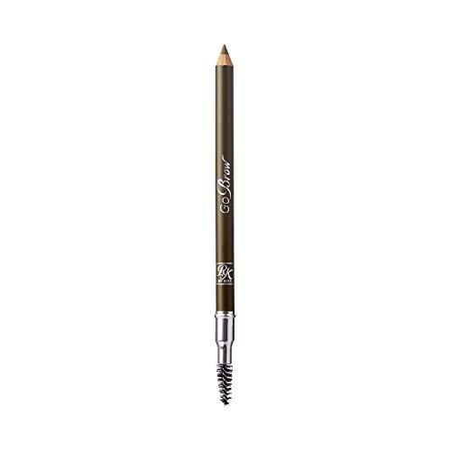 Kiss Go Brow Eyebrow Wooden Pencil Light Medium Brown(6 Pieces)