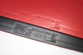 Tibhar Evolution MX-S 2.1 mm Table Tennis Rubber (Red)