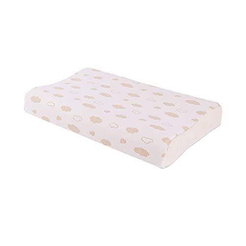 WXYPP Almohada de látex de Almohada Suave y Transpirable en Todas Las Estaciones con Funda de Almohada de algodón (Color : Color B)