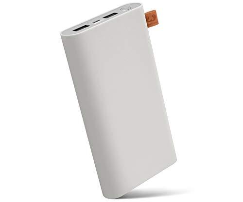 Fresh \'n Rebel Powerbank 18000 mAh Cloud | Tragbares Ladegerät/Externer Akku mit 2 USB Anschlüssen