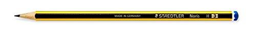 Noris® potlood 120, H, geel- zwart