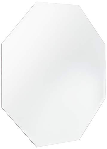 Darice Espejo Octogonal de Borde Biselado de 30,5 cm, Gris