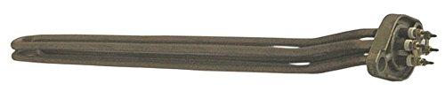 Wega-CMA radiator voor koffiezetapparaat Sphera 5000W 230V lengte 478mm breedte 38mm 3 verwarmingscircuits hoogte 55mm aansluiting M4 H1 32mm
