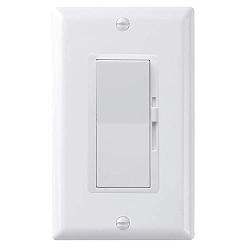 Jeromeki Dimmer Digitale Avanzato un Tiristore un Controllo Singolo per Led/Lampada Ad Incandescenza/Lampada Alogena/Lampada CFL Bianca