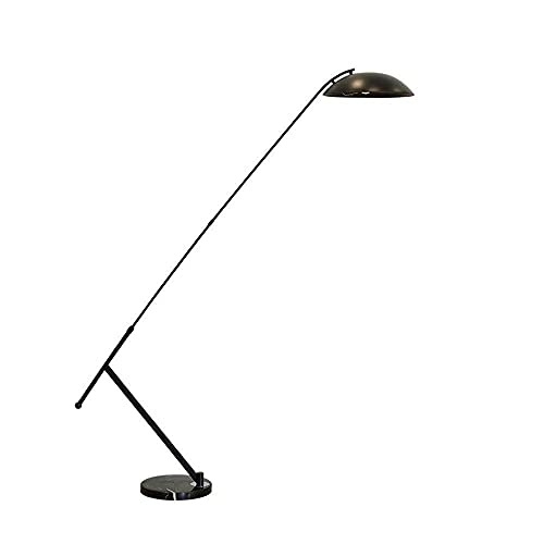 CHENJIA Pesca moderna simple lámpara de pie, lámpara de pie ajustable for sala de estar, dormitorio, oficina, interruptor de pie, 35 * 195cm