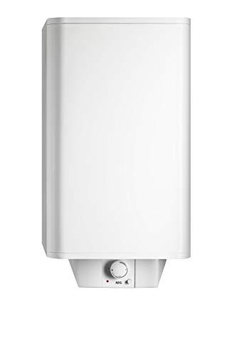 AEG Haustechnik AEG Wandspeicher DEM 80 Basis, 80 l, druckfest und drucklos, stufenlose Temperaturwahl, Schnellaufheiztaste, für Einkreis- und Zweikreisschaltung, 234198, 230 V, Weiß, 80 Liter