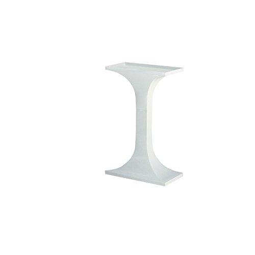 Voltrega 60B - Soporte rectangular de pie columna para jaula de aves, 25.00 x 47.00 x 73.00 cm (9.84' x 18.50' x 28.74')